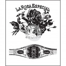 Prima Marketing Cigar Box Secrets #1 Clear Mini Stamp Set - La Rosa 575847