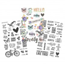 Simple Stories Bliss Clear Stickers 10023