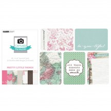 """Kaisercraft Captured Moments Pretty Little Things 4""""x6"""" Double Sided Journal Cards CM327"""
