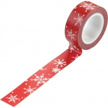 Carta Bella Christmas Market Snow Flurries Decorative Washi Tape CM106037