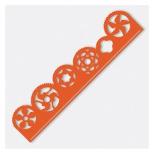Couture Creations Cog Border Metricon Universal Cutting Die CO723739
