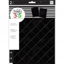 Me & My Big Ideas Create 365 CLASSIC Happy Planner Snap-In Cover Quilted Black COLC-05