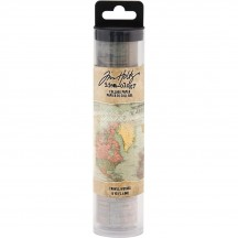 Tim Holtz Idea-ology Collage Paper - Travel TH93950