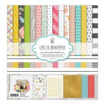 "Fancy Pants Life Is Beautiful 12""x12"" Collection Kit 2649"