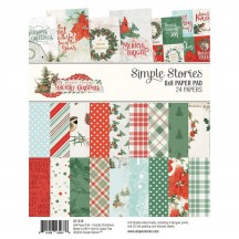 "Simple Stories Simple Vintage Country Christmas 6""x8"" Double-Sided Paper Pad 11319"