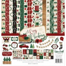 "Echo Park A Cozy Christmas 12""x12"" Collection Kit ACC189016"