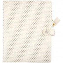 Webster's Pages Gold Dot A5 Faux Leather Composition Planner CP001GD