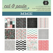 """My Mind's Eye Cut & Paste Flair 6""""x6"""" Double-Sided Paper Pad CP1093"""
