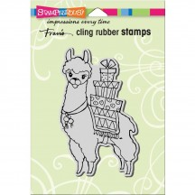 Stampendous Llama Delivery Cling Stamp CRP319