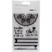 Kaisercraft Finders Keepers Clear Stamp Set CS251