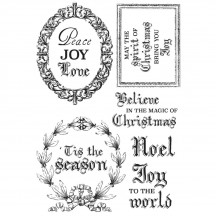 Kaisercraft Letters to Santa Clear Stamp Set CS309