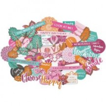 Kaisercraft Bombay Sunset Collectables Die-Cut Pieces CT882
