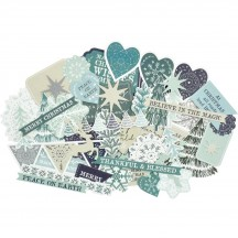 Kaisercraft Wonderland Collectables Die-Cut Christmas Pieces CT944