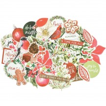 Kaisercraft Peace & Joy Collectables Die-Cut Christmas Pieces CT945