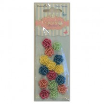 Dovecraft Cupcake Boutique Resin Flowers DCRF001