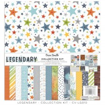"Cocoa Vanilla Studio Legendary 12""x12"" Collection Kit LG010"