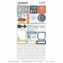 Cocoa Vanilla Studio Legendary Accessory Stickers LG012
