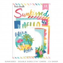 "Cocoa Vanilla Studio Sunkissed 3""x4"" Pocket Cards SK009"