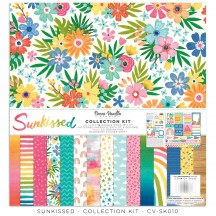"Cocoa Vanilla Studio Sunkissed 12""x12"" Collection Kit SK010"