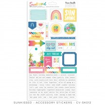Cocoa Vanilla Studio Sunkissed Accessory Stickers SK012