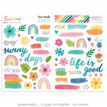 Cocoa Vanilla Studio Sunkissed Clear Stickers SK015