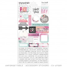 Cocoa Vanilla Studio Unforgettable Accessory Stickers UF009