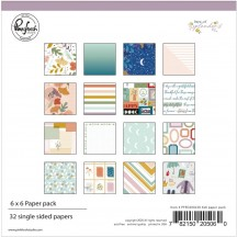 "Pinkfresh Studio Days of Splendor 6""x6"" Paper Pack PFDA600220"