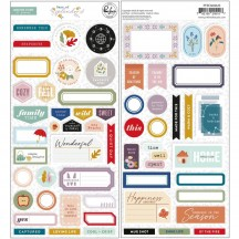 Pinkfresh Studio Days of Splendor Cardstock Stickers PFDA600620
