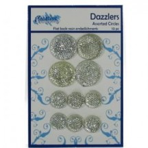 Creative Expressions Dazzlers - Assorted Circles - 10 pieces