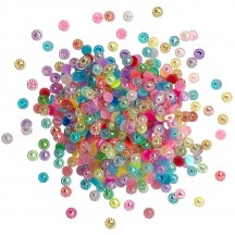 Buttons Galore & More Doo Dadz Birthday Bling Sparkle Mixed Embellishment Pack DD111