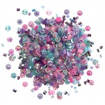 Buttons Galore & More Doo Dadz Princess Sparkle Mixed Embellishment Pack DD112