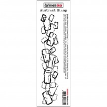 Darkroom Door Abstract No 5 Cling Rubber Stamp DDAB005