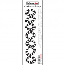 Darkroom Door Abstract No 9 Cling Rubber Stamp DDAB009