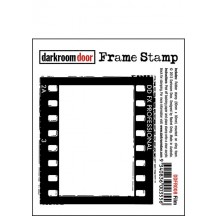 Darkroom Door Cling Foam Mounted Rubber Frame Stamp - Film DDFR008