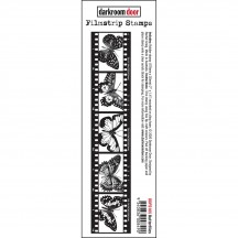 Darkroom Door Filmstrip Butterflies Cling Rubber Stamp DDFS105
