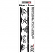 Darkroom Door Filmstrip Ocean Life Cling Rubber Stamp DDFS107