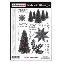 Darkroom Door Rubber Stamps - Yuletide Vol 1 DDRS031