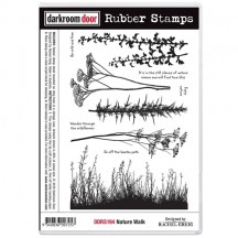 Darkroom Door Nature Walk Cling Foam Mounted Rubber Stamps DDRS194