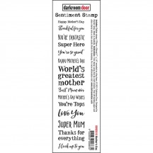 Darkroom Door Mother's Day Cling Rubber Sentiment Stamp DDSE015