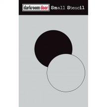 "Darkroom Door Circle Set 4.5""x6"" Small Stencil DDSS019"