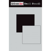 "Darkroom Door Square Set 4.5""x6"" Small Stencil DDSS021"