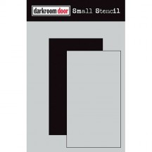 "Darkroom Door Rectangle Set 4.5""x6"" Small Stencil DDSS022"