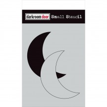 "Darkroom Door Moon Set 4.5""x6"" Small Stencil DDSS040"