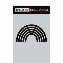 "Darkroom Door Rainbow 4.5""x6"" Small Stencil DDSS042"