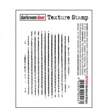 Darkroom Door Weathered Stripes Cling Mounted Rubber Texture Stamp DDTS008