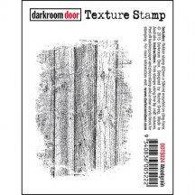 Darkroom Door Woodgrain Cling Mounted Rubber Texture Stamp DDTS024