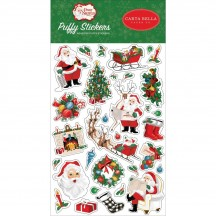 Carta Bella Dear Santa Puffy Icon Stickers DE125066