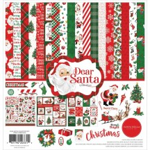 "Carta Bella Dear Santa Christmas 12""x12"" Collection Kit DE125016"