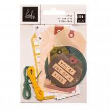 Heidi Swapp Carefree Tag Kit 315682