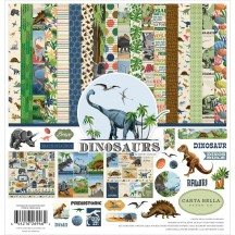 "Carta Bella Dinosaurs 12""x12"" Collection Kit DI110016"